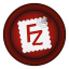 64x64px size png icon of filezilla