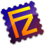 64x64px size png icon of FileZilla Server
