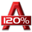 64x64px size png icon of 120 Percent Alcohol
