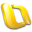 64x64px size png icon of Outlook Mac