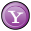 64x64px size png icon of Yahoo Messenger Alternate