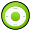64x64px size png icon of iPod Green
