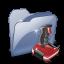 64x64px size png icon of Folder Docjeux SZ