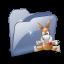 64x64px size png icon of Folder Dossier Emule SZ