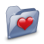 64x64px size png icon of Folder Dossier Favoris SZ