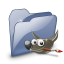 64x64px size png icon of Folder Dossier Gimp SZ
