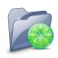 64x64px size png icon of Folder Dossier LimeWire SZ