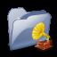 64x64px size png icon of Folder Dossier Musique SZ