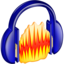 64x64px size png icon of Audacity