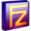 64x64px size png icon of Filezilla