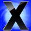 64x64px size png icon of X Circle Blu