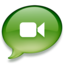 64x64px size png icon of iChat groen