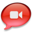 64x64px size png icon of iChat rood