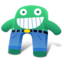 64x64px size png icon of Green Blue Pants