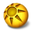 64x64px size png icon of Orbz sun