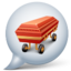 64x64px size png icon of Coffin