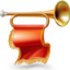 64x64px size png icon of Horn