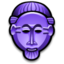 64x64px size png icon of Baule Mask