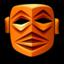 64x64px size png icon of Raratonga Mask