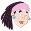64x64px size png icon of Girl 4