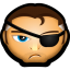 64x64px size png icon of Avengers Nick Fury