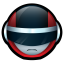64x64px size png icon of Bioman Avatar 1 Red