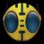 64x64px size png icon of Bioman Avatar 6 Peebo