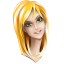 64x64px size png icon of browser girl chrome