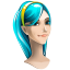 64x64px size png icon of browser girl internet explorer