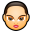 64x64px size png icon of Female Face FA 5