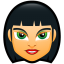 64x64px size png icon of Female Face FC 4