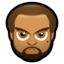 64x64px size png icon of Male Face J2