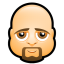 64x64px size png icon of Male Face K5