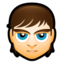 64x64px size png icon of Male Face M4