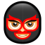 64x64px size png icon of Male Face N4
