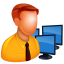 64x64px size png icon of Admin