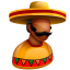 64x64px size png icon of Mexican Boss