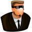 64x64px size png icon of Security Guard