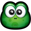 64x64px size png icon of Green Monster 10