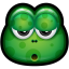 64x64px size png icon of Green Monster 18