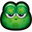 64x64px size png icon of Green Monster 20