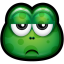 64x64px size png icon of Green Monster 21