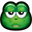 64x64px size png icon of Green Monster 23