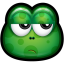 64x64px size png icon of Green Monster 24
