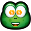 64x64px size png icon of Green Monster 28