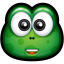 64x64px size png icon of Green Monster 9