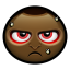 64x64px size png icon of angry man