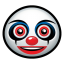 64x64px size png icon of clown