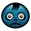 64x64px size png icon of zombie