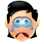 64x64px size png icon of Boy Cry